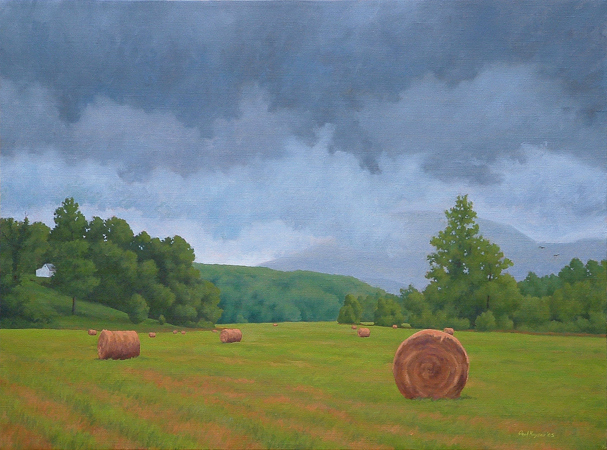 Nellysford, Virginia - Traditional Realism Painting by Paul Keysar