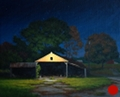 Shed Light, Original Night painting in oil by Paul Keysar