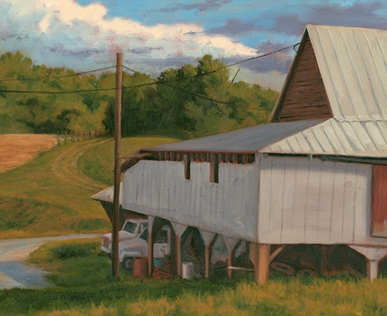 Sunnybrook Farm - Plein Air Landscape Painting by Paul Keysar